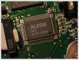 Edward d-tech website - Alesis M4 and M4C chips